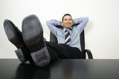 Uomo d'affari di distensione Fotografie Stock