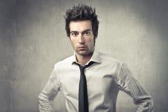 Uomo d'affari di modo Fotografia Stock