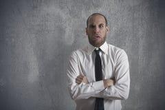 Uomo d'affari disgustato Fotografie Stock Libere da Diritti