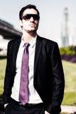 Uomo d'affari In Dubai Fotografie Stock