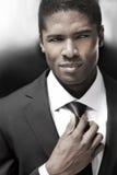Uomo d'affari elegante Fotografia Stock Libera da Diritti