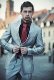 Uomo d'affari elegante giovane Fotografia Stock Libera da Diritti
