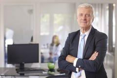 Uomo d'affari finanziario Fotografie Stock