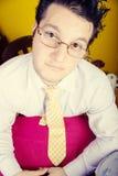 Uomo d'affari Freaky Fotografia Stock Libera da Diritti