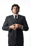 Uomo d'affari importante fotografia stock libera da diritti