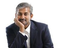 Uomo d'affari indiano Fotografie Stock