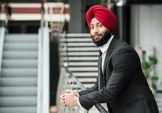 Uomo d'affari indiano fotografia stock