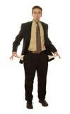 Uomo d'affari isolato Fotografia Stock Libera da Diritti
