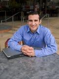 Uomo d'affari ispanico Fotografie Stock Libere da Diritti