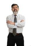Uomo d'affari ispanico Fotografia Stock Libera da Diritti