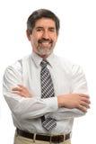 Uomo d'affari ispano Smiling Immagini Stock