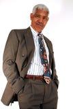Uomo d'affari maggiore Fotografie Stock