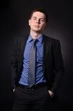 Uomo d'affari medio Fotografie Stock
