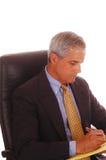 Uomo d'affari messo Fotografie Stock Libere da Diritti