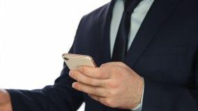 Uomo d'affari Online Payment