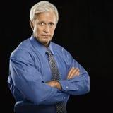 Uomo d'affari potente. Immagini Stock Libere da Diritti
