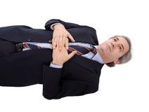 Uomo d'affari premuroso Fotografie Stock Libere da Diritti