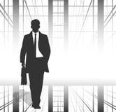 Uomo d'affari Priorità bassa di affari Fotografie Stock