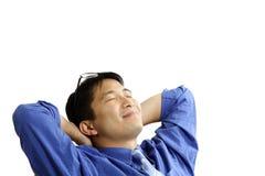 Uomo d'affari Relaxed Immagine Stock