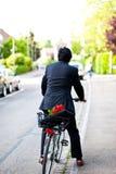 Uomo d'affari romantico Fotografie Stock
