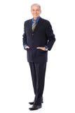Uomo d'affari senior Fotografie Stock