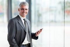 Uomo d'affari senior Fotografia Stock Libera da Diritti