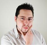 Uomo d'affari serio fotografie stock libere da diritti