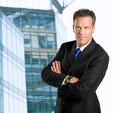 uomo d'affari sicuro Fotografie Stock