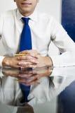 Uomo d'affari sicuro Fotografia Stock Libera da Diritti