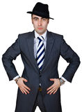 Uomo d'affari sicuro Immagine Stock