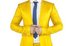 Uomo d'affari sicuro, fondo bianco, isolato immagini stock
