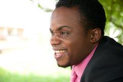 Uomo d'affari Smiling Fotografia Stock