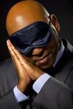 Uomo d'affari sonnolento Fotografie Stock Libere da Diritti