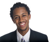 Uomo d'affari - sorriso felice Immagine Stock Libera da Diritti