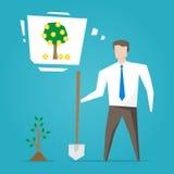 Uomo d'affari Startup illustrazione vettoriale