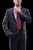 Uomo d'affari in un vestito Fotografia Stock Libera da Diritti