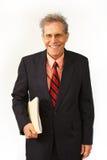 Uomo d'affari in un vestito Fotografie Stock Libere da Diritti