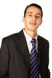 Uomo d'affari in vestito astuto fotografie stock