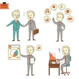 Uomo d'affari (Vettore) Immagine Stock Libera da Diritti