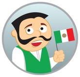Uomo dal Messico Immagini Stock