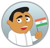 Uomo dall'India Immagini Stock
