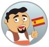 Uomo dalla Spagna Fotografie Stock Libere da Diritti
