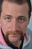 Uomo dei baffi e della barba Immagine Stock Libera da Diritti