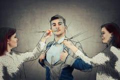 Uomo dei miei sogni Fotografie Stock Libere da Diritti