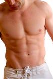 Uomo dei muscoli fotografia stock