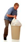 Uomo dei rifiuti Fotografia Stock
