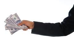 Uomo dei soldi Fotografie Stock Libere da Diritti