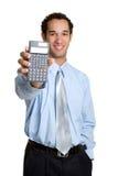 Uomo del calcolatore fotografia stock