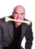 Uomo del cannibale Fotografia Stock Libera da Diritti
