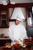 Uomo del cuoco Fotografie Stock Libere da Diritti